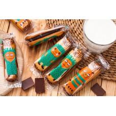 Бисквитные монстры шоколадные