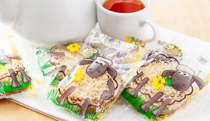 SHORTBREAD BISCUITS MERRY LITTLE LAMBS